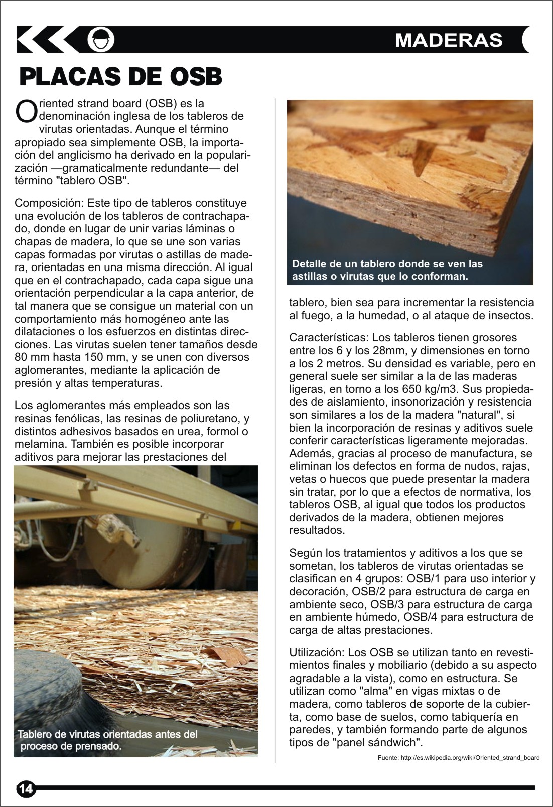 Edición 16 - Materiales, Placas OSB