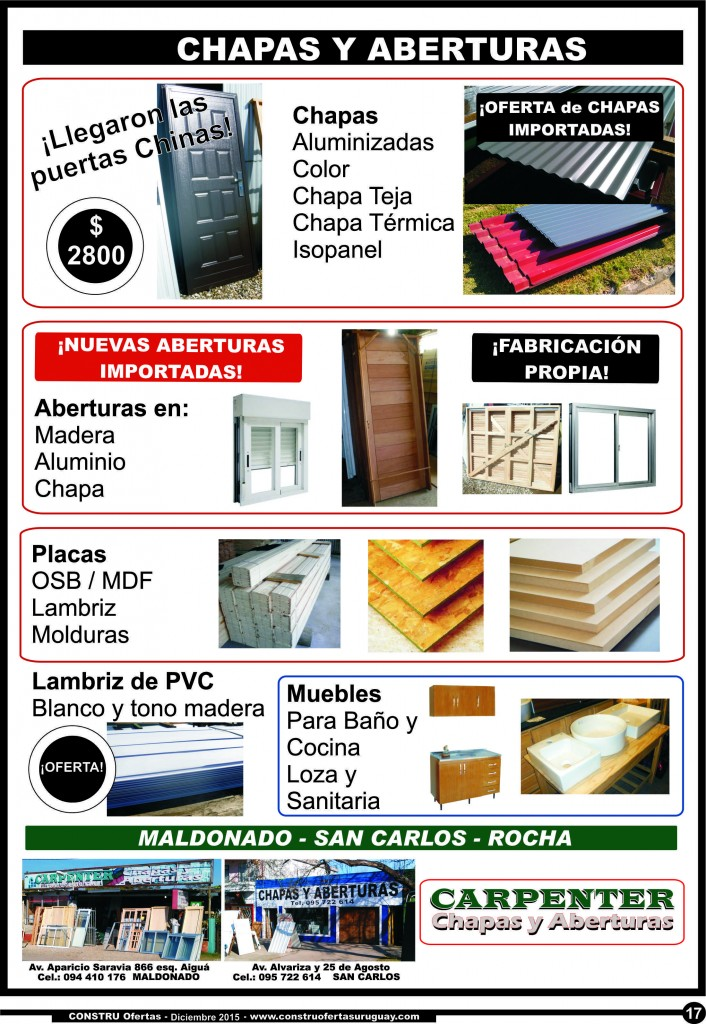 Carpenter Chapas y Aberturas